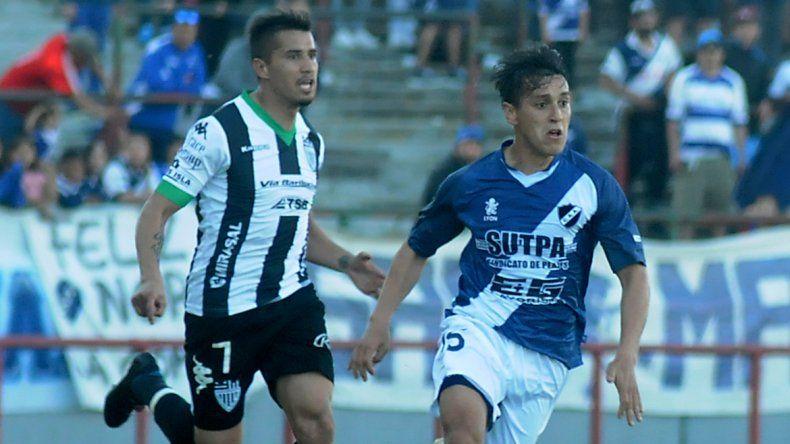 Carrasco marcó el gol en el Mundialista e hizo un gran partido.