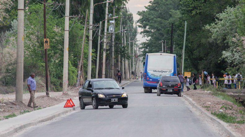 La obra de asfalto de la Circunvalación Illia