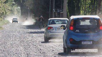 El camino pavimentado entre Cipolletti y Cinco Saltos será por la zona rural.