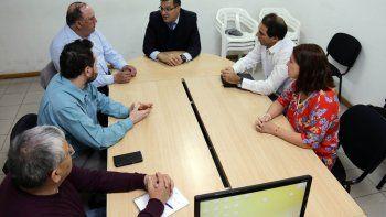 Lucas Pica se reunió con gremios y empresarios en los últimos días.