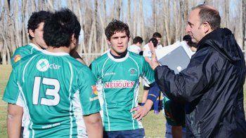 El Gringo Piergentili, integrante del cuerpo técnico de Alto Valle, ya dirigió la selección seven.