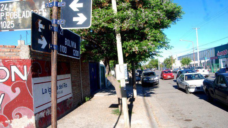Luego del incidente ocurrido la semana pasada sobre calle Bolivia