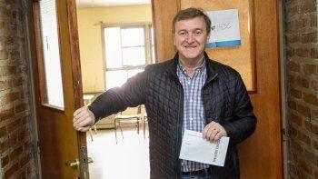 tortoriello dijo que la eleccion fue en paz y con gente contenta