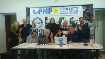 Los peronistas cipoleños festejaron el triunfo local el domingo.