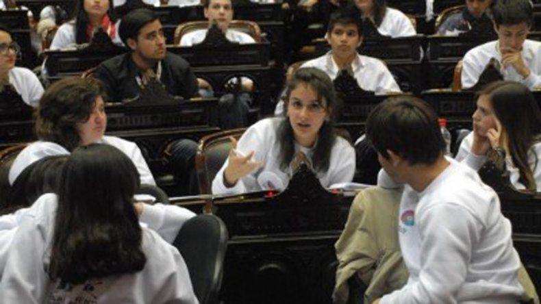 El año que viene se hará el cuarto Parlamento Federal Juvenil.