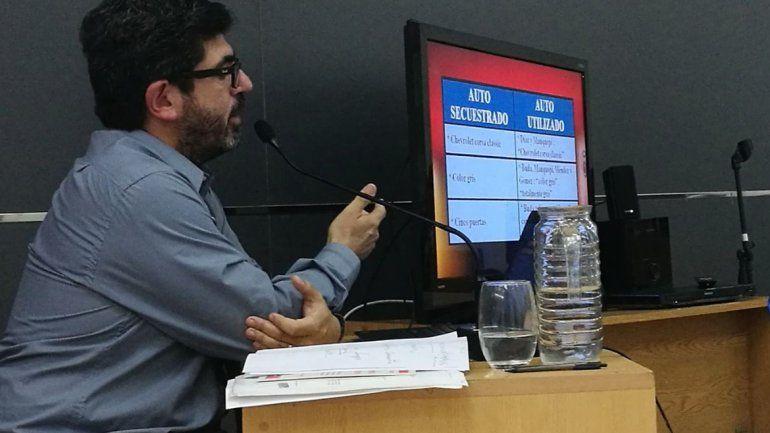 El fiscal Herrera dio un completo detalle de las pruebas incriminatorias.