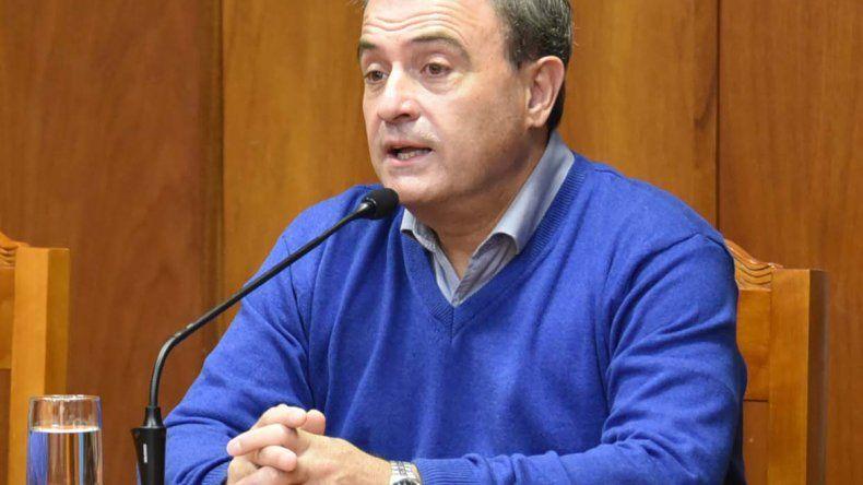 El vicegobernador Pesatti reactivó el debate por la nueva ley.