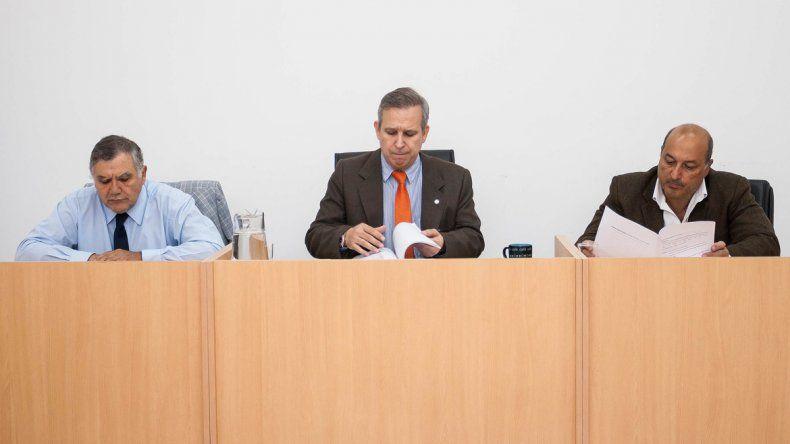 Los jueces Pablo Repetto