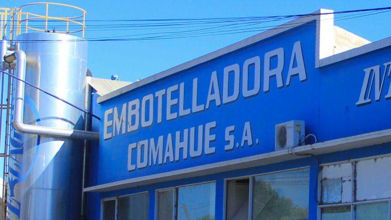 Embotelladora Comahue está en crisis desde el 2016.