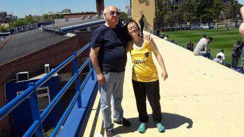 Jugadores de Boca la invitaron a la cancha y le cumplieron un sueño