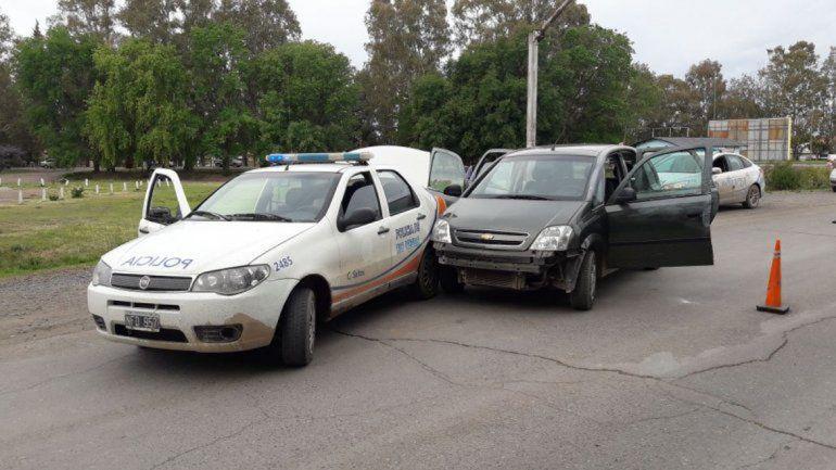 Los delincuentes fueron atrapados antes de llegar a Neuquén.