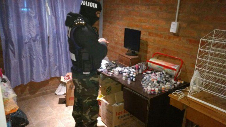 Desbarataron un clan familiar que vendía cocaína y marihuana en barrios de la ciudad