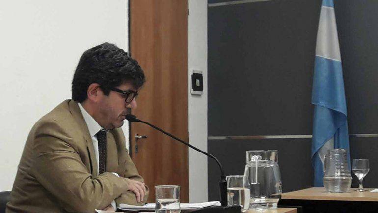El fiscal Gustavo Herrera fue el encargado de la acusación.
