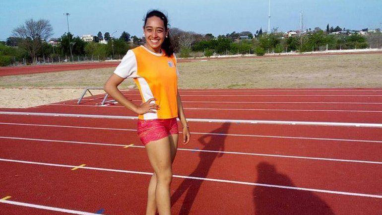 Abril Alemanni aportó la primera presea ganadora para Río Negro. Melisa Mora fue la más veloz de los 100 metros llanos