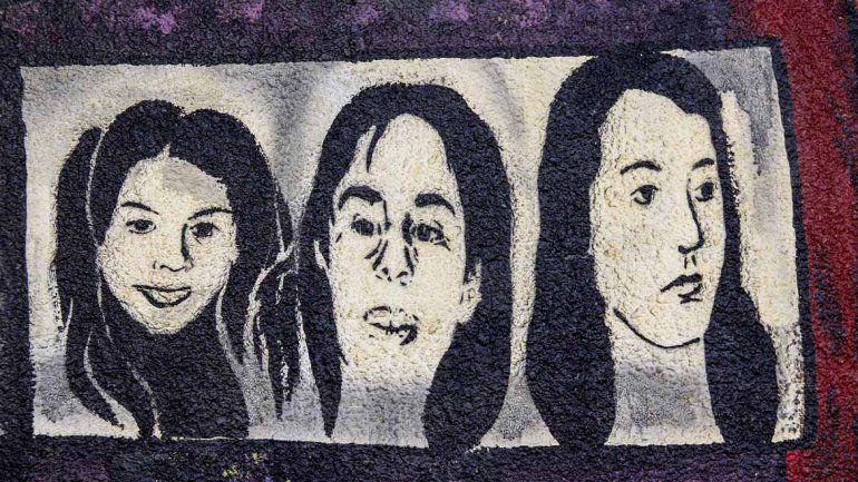 A través de murales, la ciudad recordó el primer Triple Crimen