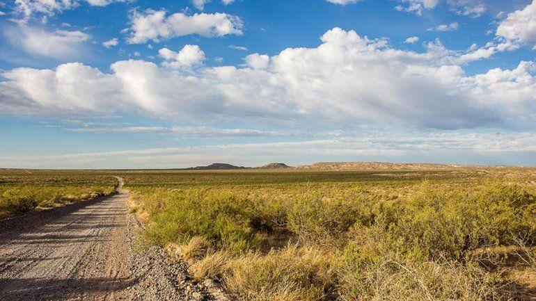 En la zona de bardas del norte cipoleño hay paisajes de gran atractivo.