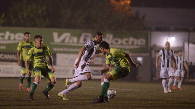 Cipolletti insistió hasta que consiguió el empate: Sosa puso el 1-1