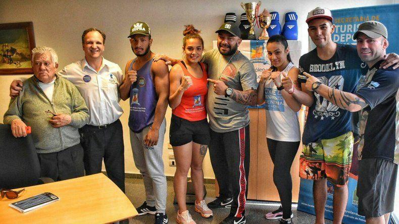 Los hermanos Vidal animan otro gran festival de boxeo.