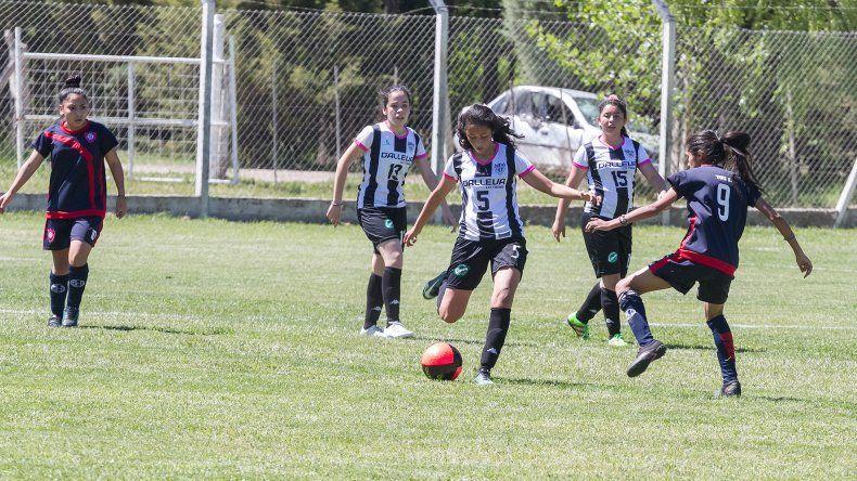 Las chicas del Albinegro perdían 3-0