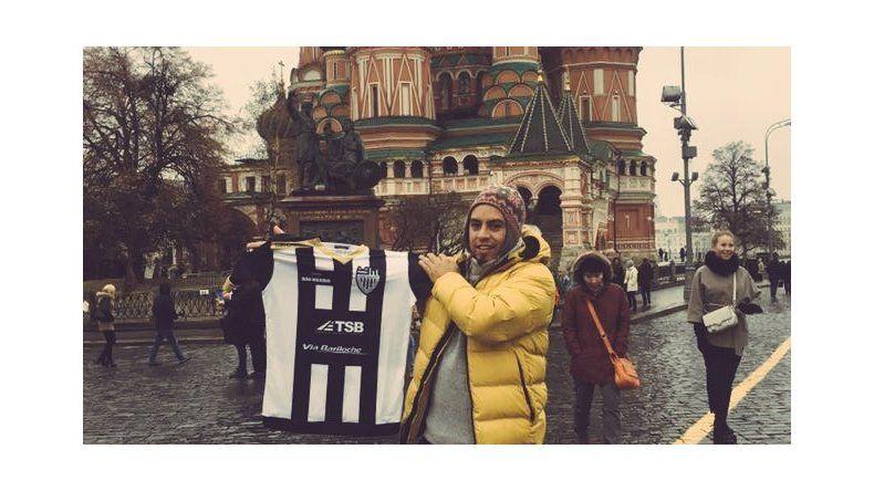 El Albinegro, presente hasta en Moscú con la Selección