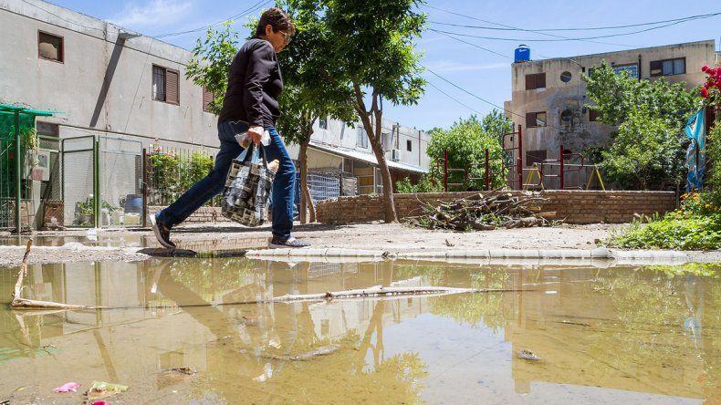 Entrar al barrio La Paz es complicado para los adultos y peligroso para los niños