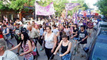 marchan a 21 anos del primer triple crimen de cipolletti