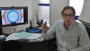 Omar Alvaro, del colegio médico neuquino, manifestó su preocupación.