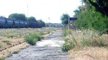 El Municipio quiere poner en valor el predio lindero a las vías del ferrocarril, embelleciendo a la ciudad.