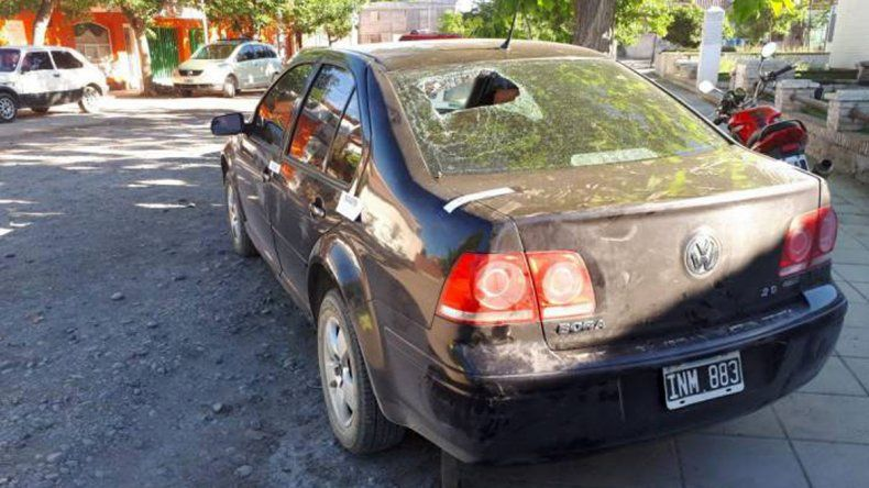 Guerra narco en Roca: con una ametralladora balearon 3 casas y hay 2 heridos