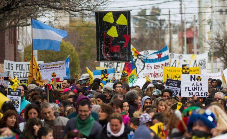 En Sierra Grande los vecinos votaron a favor de la central nuclear