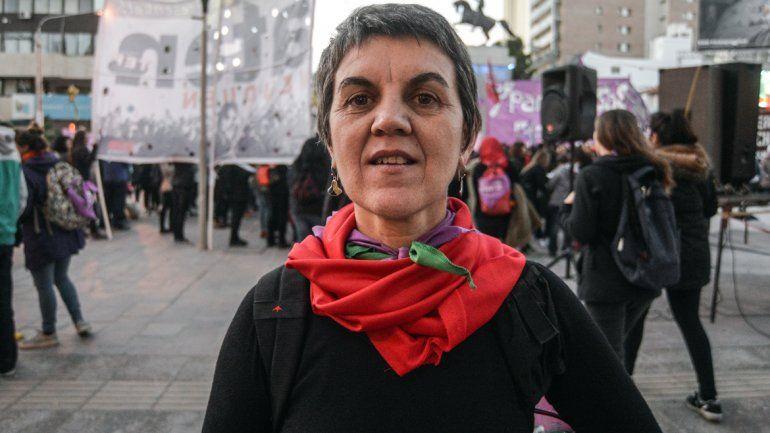 Ruth Zurbriggen criticó la actuación de los médicos del hospital cipoleño.