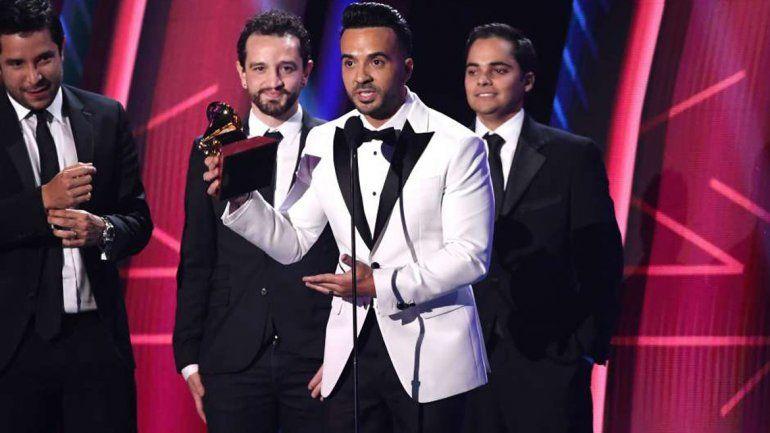 Despacito, la gran ganadora en la noche de los Latin Grammy