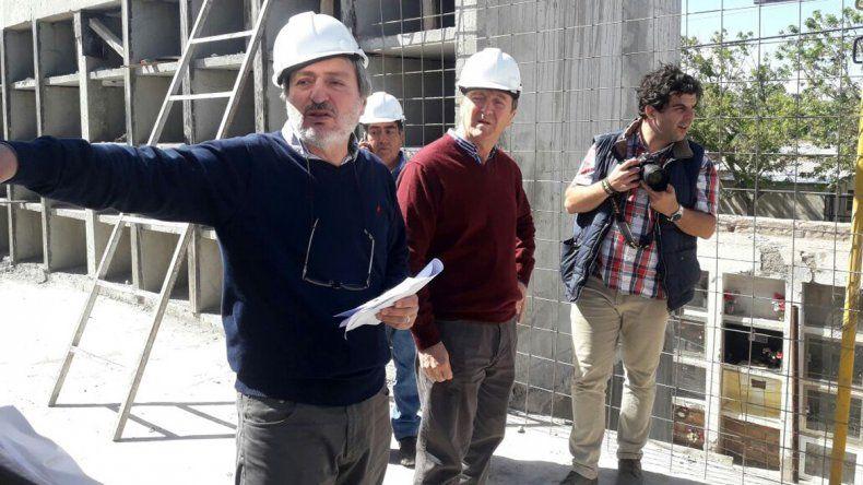 Tortoriello recorrió junto a funcionarios las 26 obras que están realizando en la ciudad