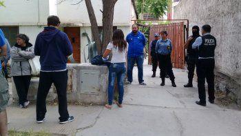 El operativo en la vivienda de la familia París fue repudiado por gremios y organismos sociales de la provincia.