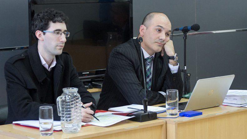 El abogado Iván Chelía formó parte de la querella en el juicio por abuso.