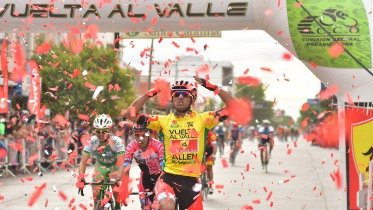 Cristian Ranquehue ganó el Gran Premio del Alto Valle por tercera vez.
