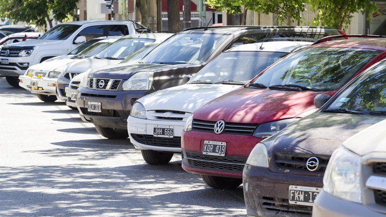 Se implementó el estacionamiento a 45º y de culata en calle Mengelle
