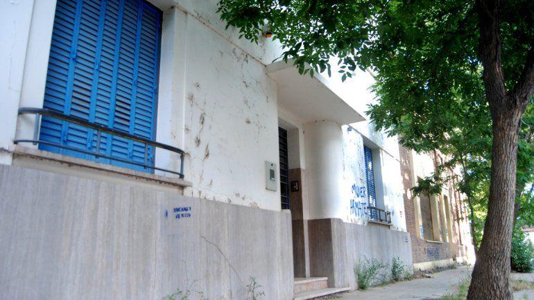 La vivienda y consultorio de Mengelle tiene los días contados.