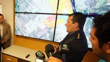 El centro de monitoreo funcionará en Viedma, en la jefatura policial.
