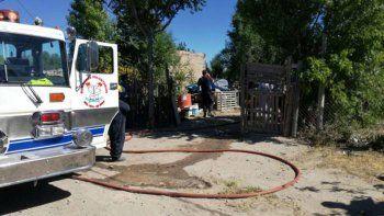 dos nenes que dormian murieron al incendiarse su casa en roca