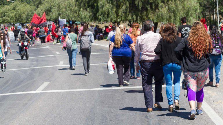 Jornada nacional: marcharán a los puentes carreteros