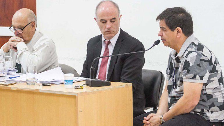 El ex legislador Rubén López brindó ayer su versión de los hechos.