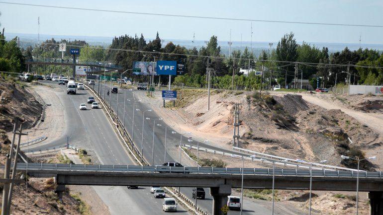 El puente está habilitado para hacer la circunvalación de Neuquén.