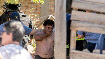 El miércoles, dos niños murieron atrapados en un incendio en Roca.