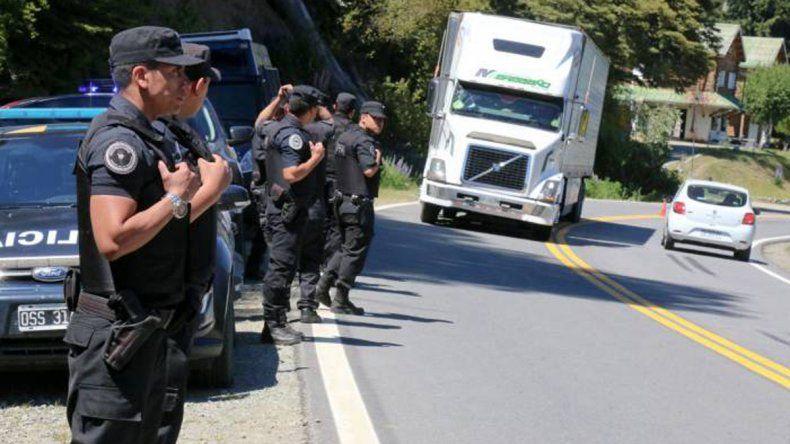 Las Fuerzas Federales coparon Bariloche por el encuentro del G20