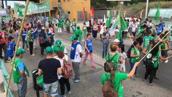 Unter se suma a la marcha y ATE pide una suba salarial del 25%