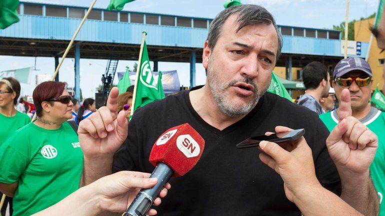 Peleamos contra la reforma que quiere implementar Macri, criticó Aguiar