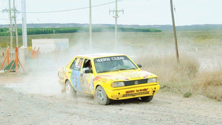 El Rally de Cipolletti cruzará el puente y se va para la Margen Sur