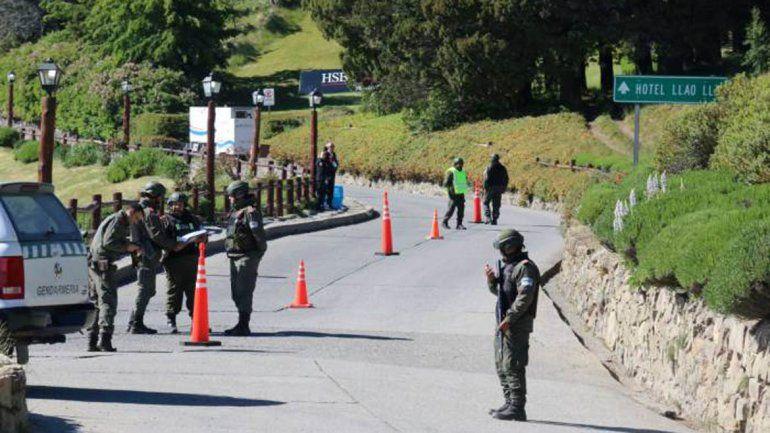 Las Fuerzas Federales blindaron Bariloche por el G20