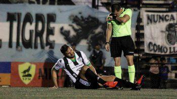 Justo vos, Piñero. El 9 arrastra una sobrecarga en el aductor de la pierna izquierda y se pierde un partido crucial ante Deportivo Madryn.